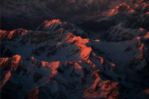 جبال الهيمالايا.