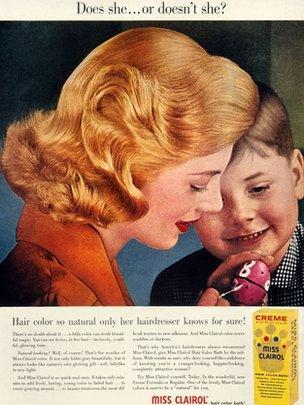 Miss Clairol vintage advert
