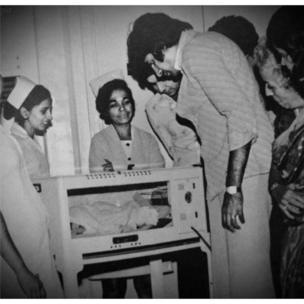 अमिताभ बच्चन अभिषेक के साथ