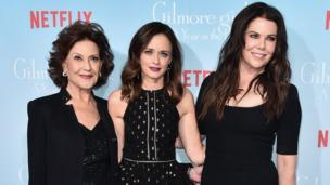 Kelly Bishop, Alexis Bledel and Lauren Graham