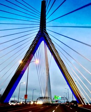 in_pictures Leonard Zakim bridge, Boston, US