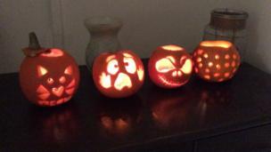 Olivia's pumpkin