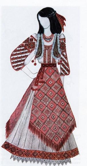 Ескіз костюму для Софії Ротару