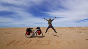 The first 1000 km in Western Sahara