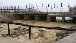 حمیدرضا: رودخانه فارسان چهارمحال و بختیاری پس از مدتها پر آب شده