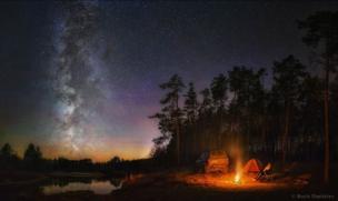 """""""Unificación sacramental con la naturaleza"""" / Imagen de Boris Dmitriev"""