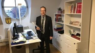 Swedish MP Per-Arne Hakansson