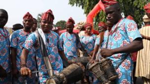 Ndị egwu Yoruba