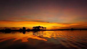Jua likitua Okavango Delta.
