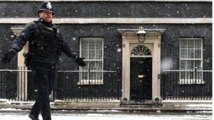 Downing Street police officer