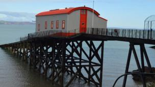 Tenby's old lifeboat station