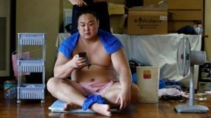 जापान, सुमो पहलवान
