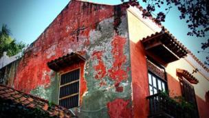 Casa colonial en Cartagena