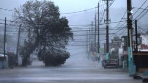 Irma, badai, Karibia