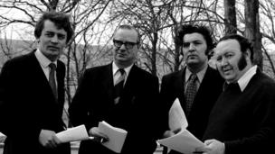 in_pictures Austin Currie, Gerry Fitt, John Hume and Paddy Devlin
