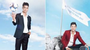 Hai gương mặt thể thao, Nguyễn Công Phượng (bóng đá) và Phạm Hồng Nam (cầu lông).