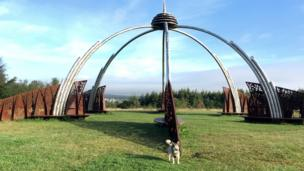 Ceri Tracey took this shot of her dog Matilda at Parc Penallta, Ystrad Mynach, Caerphilly