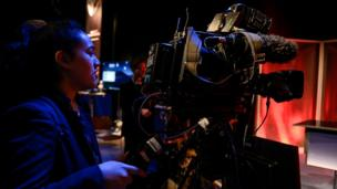 A Young Reporter takes charge behind the camera