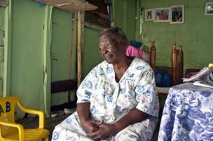 A women in the Dominican Republic