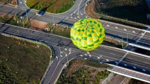 Balloon in Canberra