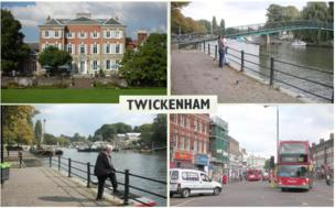 A Twickenham postcard