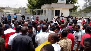 Protesters on Zamfara killings