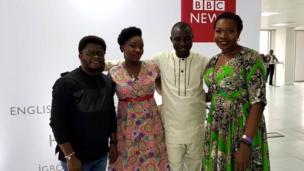 Taiwo Kola-Ogunlade ati Dorothy, awọn oṣiṣẹ Google naa wa sibẹ