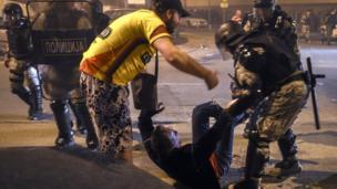 Makedonya'da sokak gösterileri