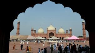لاہور کی بادشاہی مسجد