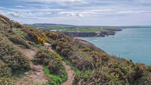 Anglesey coast path