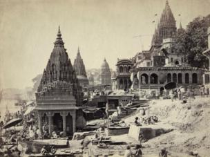 Vishnu Pud & Surrounding Temples near the Burning Ghat, Benares