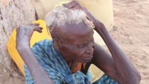 Mariam Loolio ni ajuza mwenye umri was miaka 85. Kwa siku tano anasema hajala chochote.