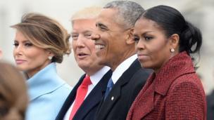 डोनल्ड ट्रंप और बराक ओबामा