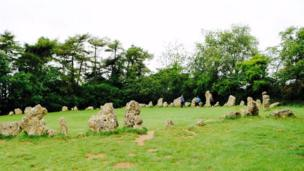 The Rollright Stones in Chipping Norton