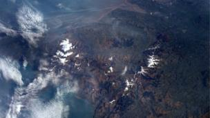 Wales as viewed from the International Space Station