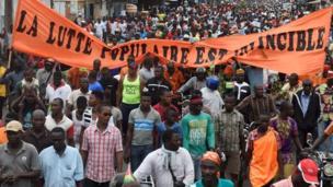 3ème jour de manifestations pour exiger le départ du président Faure Gnassingbé à Lomé.