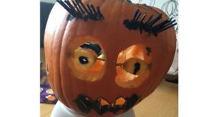 Gracey's pumpkin