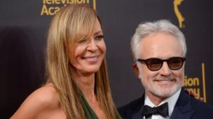 Allison Janney and Bradley Whitford