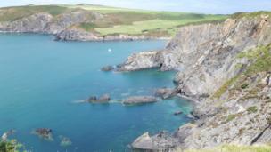 Pembrokeshire coastal path by Karen Colvin