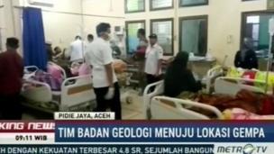 Nhiều người bị thương được đưa đến bệnh viện