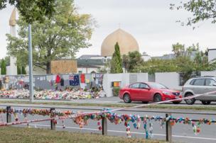 نمایی از مسجد نور، یکی از دو مسجدی که هفته گذشته هدف حمله قرار گرفت