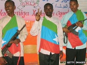 Ogaden National Liberation Front members, Mogadishu, 2006