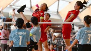 Chiến thắng trước đội Trung Quốc