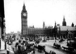 El Big Ben en 1897