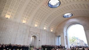 The service at the Menin Gate