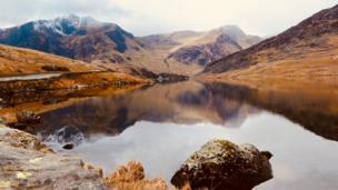 Llyn Ogwen in Snowdonia