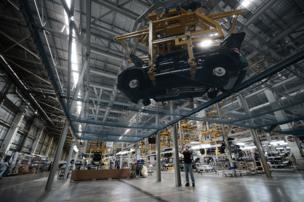 โรงงานนี้ สร้างขึ้นตั้งแต่ปี 2543 มีไลน์การผลิตทั้งรถยนต์และรถจักรยานยนต์