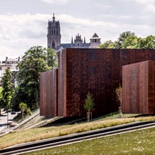Soulages Museum, 2014, Rodez, France In collaboration with G. Tregouet