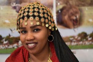 إمرأة سودانية