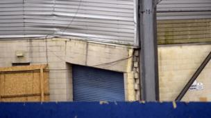 Windsor Park's west stand was closed after cracks were discovered towards the rear of the structure. The damage was noticed two days after Northern Ireland played Finland in a Euro 2016 qualifier.